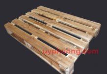 Pallet gỗ 4 hướng nâng chịu tải 2 tấn.