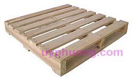 Hình ảnh sản phẩm Pallet gỗ 2 hướng nâng tải trọng 1,5 tấn