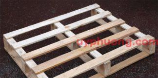 Loại pallet gỗ chịu tải trọng thấp chỉ 100KG
