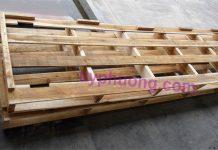 Pallet gỗ có cấu tạo giúp định vị hàng hóa