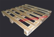 Một chiếc pallet gỗ
