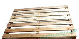 Pallet gỗ 2 hướng nâng có tải trọng 500 kg