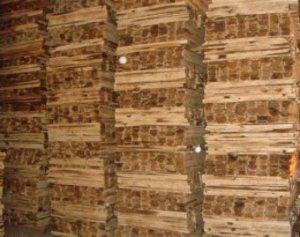 Thanh gỗ sau khi xẻ