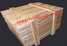 Thùng gỗ ghép thanh loại to